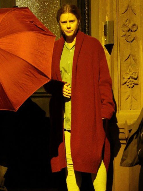 The Woman in the Window Dr Anna Fox Red Coat