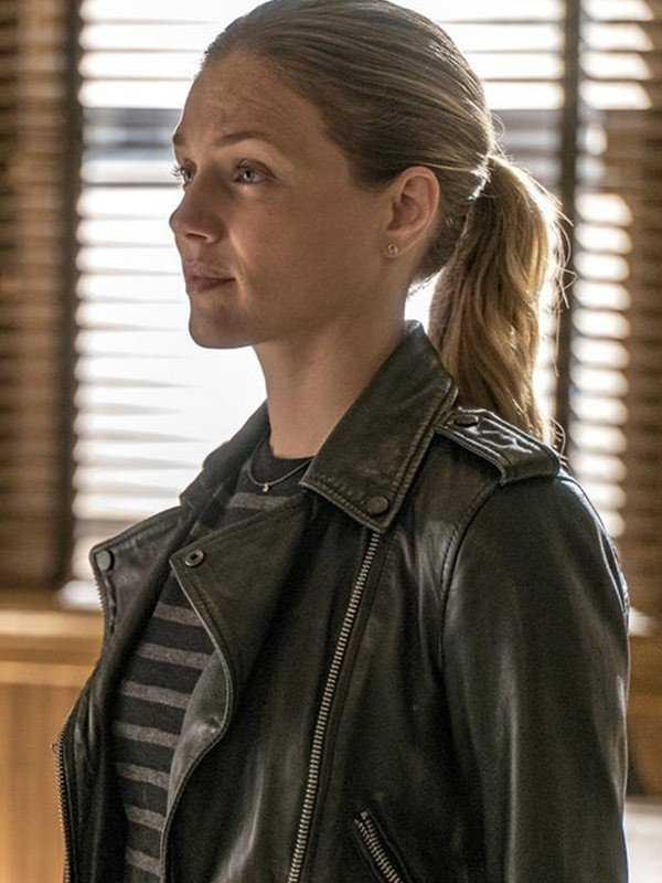Tracy Spiridakos Chicago P.D Leather Jacket