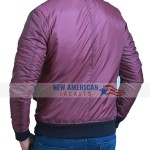 Tv Series The Flash Barry Allen Red Cotton Bomber Jacket