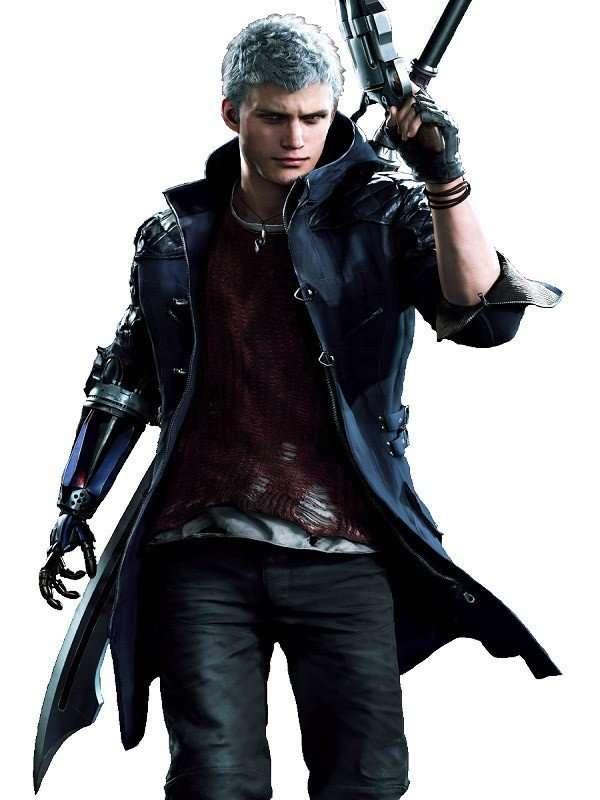 V Nero Devil May Cry Leather Coat