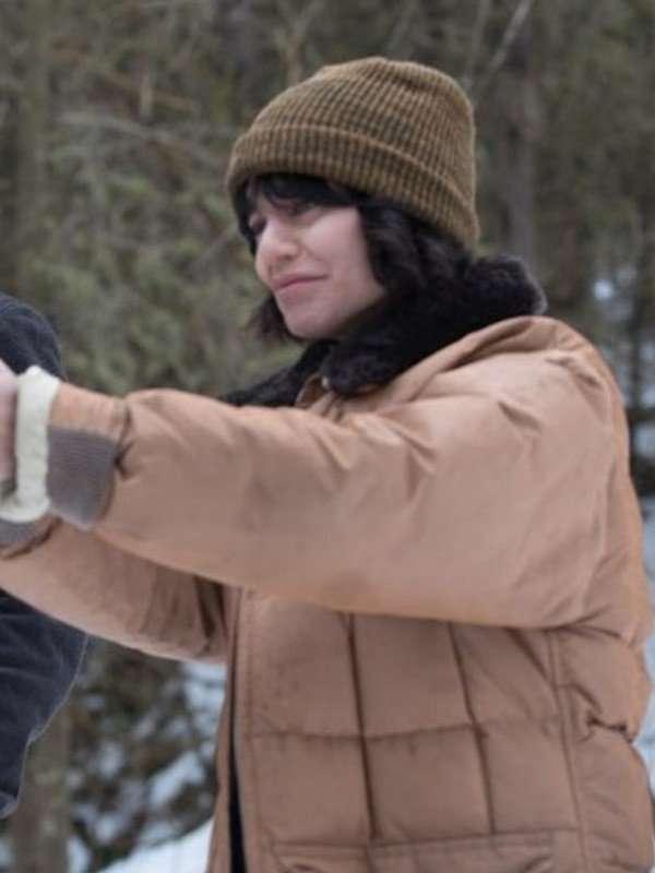 Vanessa Hudgens Polar Fur Shearling Jacket