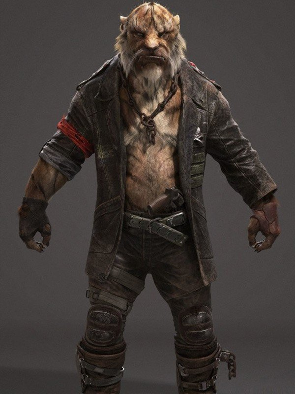 Video Game Beyond Good and Evil 2 Black Leather Coat