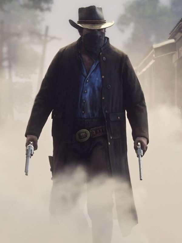 Video Game Red Dead Redemption ll Arthur Morgan Coat