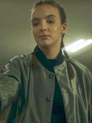 Killing Eve Villanelle Satin Jacket