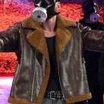 WWE Dean Ambrose Brown Leather Jacket