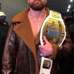 WWE Wrestler Dean Ambrose Shearling Jacket