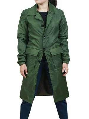 Satu Järvinen Green Trench Coat
