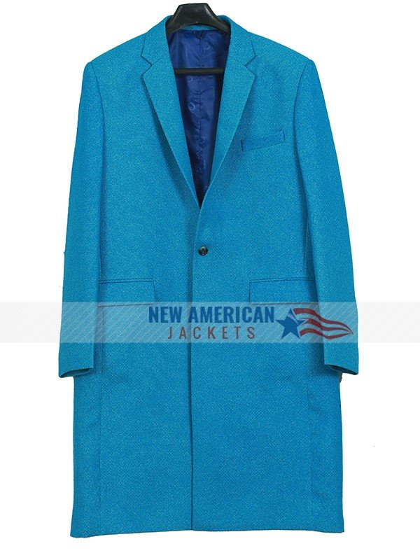 A Discovery of Witches Teresa Palmer Blue Trench Coat