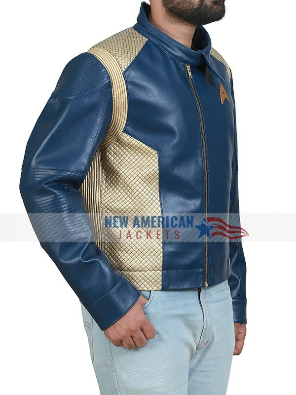 Anson Mount Star Trek Blue Jacket