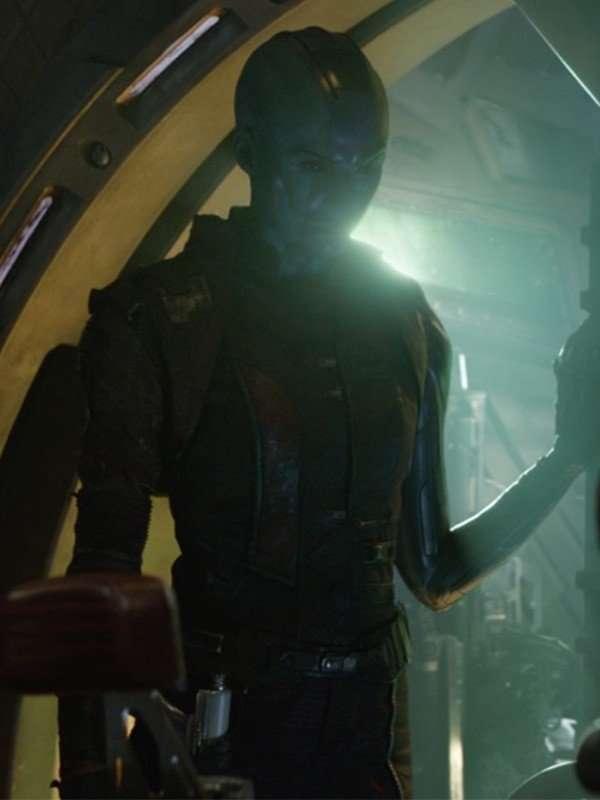 Avengers Endgame Nebula Black Jacket