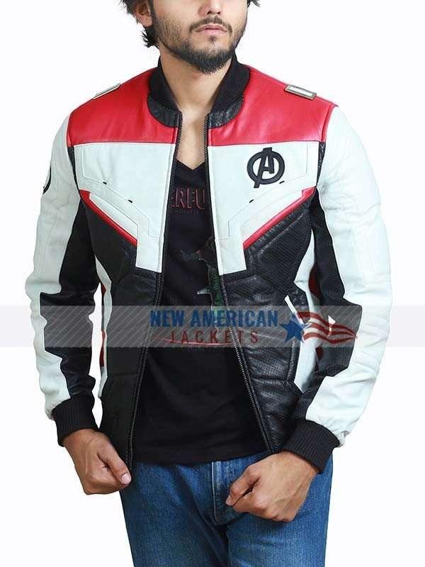 Avengers Endgame White Costume Jacket