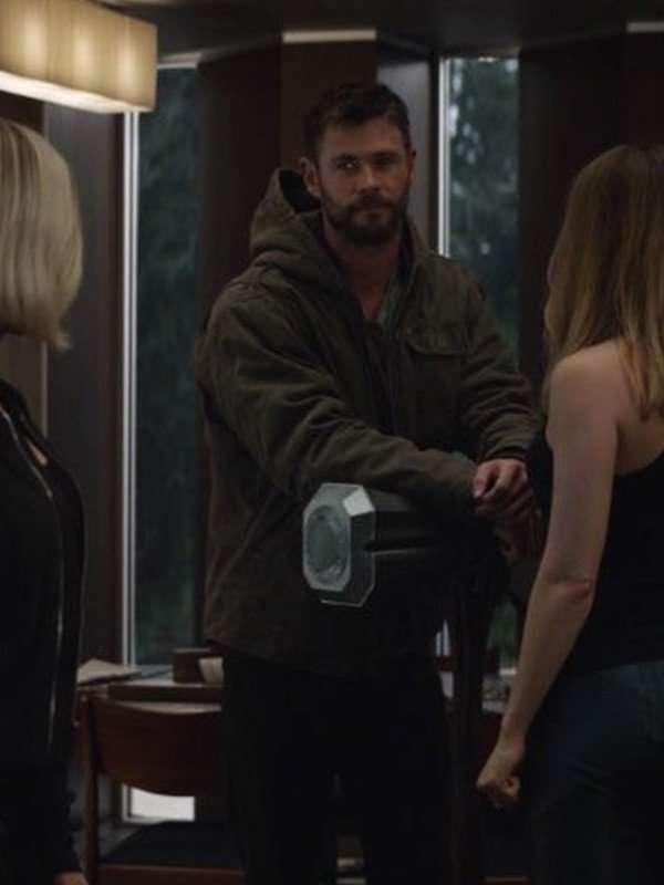 Avengers Endgames Thor Grey Cotton Jacket