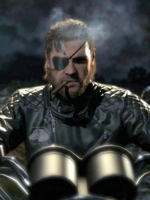 Metal Gear Diamond Dogs Big Boss Leather Jacket