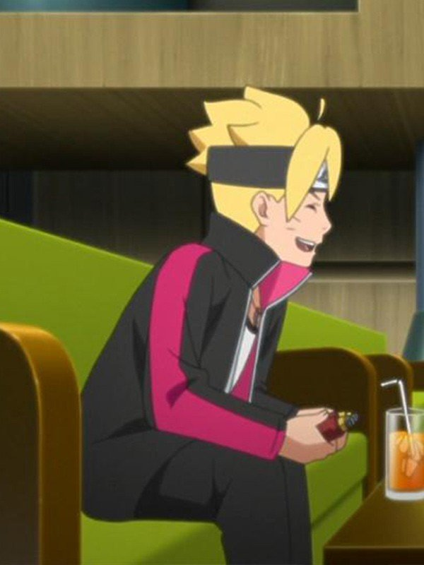 Boruto Black Jacket