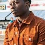 Brandon Micheal Hall God Friended Me Orange Jacket
