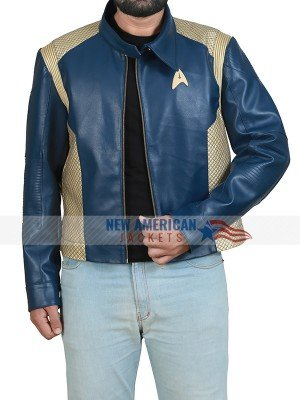 Captain Pike Blue Jacket Star Trek Discovery