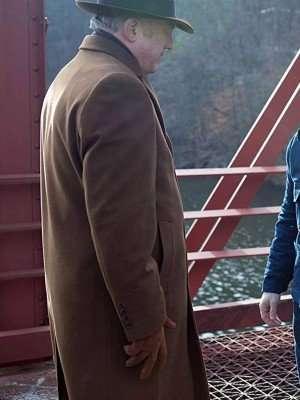John Doman TV Series Gotham Wool Trench Coat