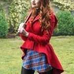 Cheryl Blossom Riverdale Madelaine Petsch Red Frock Jacket