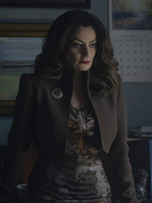Michelle Gomez Chilling Adventures of Sabrina Brown Jacket