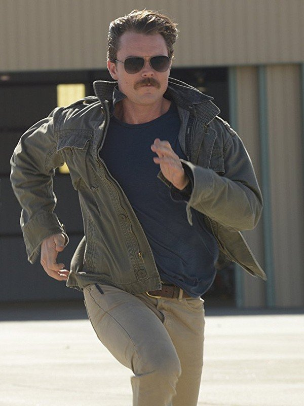 Clayne Crawford TV Series Lethal Weapon Cotton Jacket