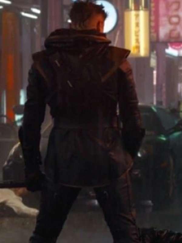 Clint Barton Avengers Endgames Black Hooded Jacket