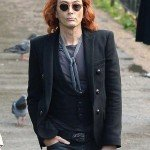 Crowley Good Omens Black Blazer Jacket