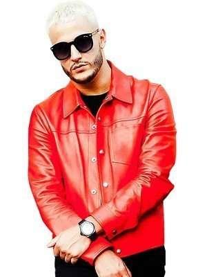Taki Taki DJ Snake Leather Jacket