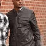Damon Wayans Lethal Weapon Brown Leather Jacket