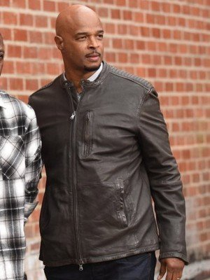 Lethal Weapon Roger Murtaugh Brown Leather Jacket
