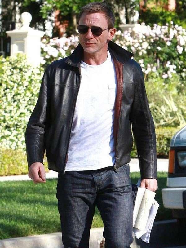 Daniel Craig Layer Cake Black Jacket