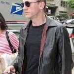 Daniel Craig Layer Cake XXXX Black Leather Jacket