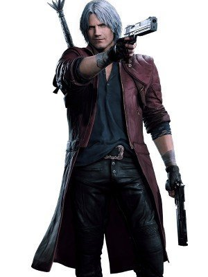 Devil May Cry 4 Dante Leather Coat