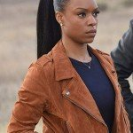 Detective Sonya Bailey Lethal Weapon Suede Leather Jacket