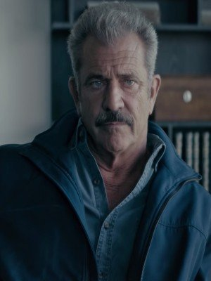 Dragged Across Concrete Mel Gibson Blue Jacket