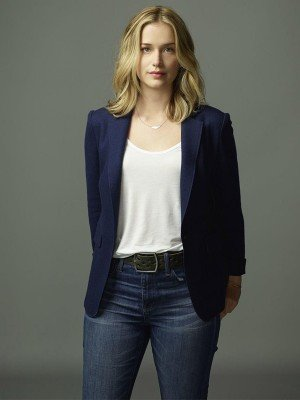 You Elizabeth Lail Blue Blazer Coat for Womens
