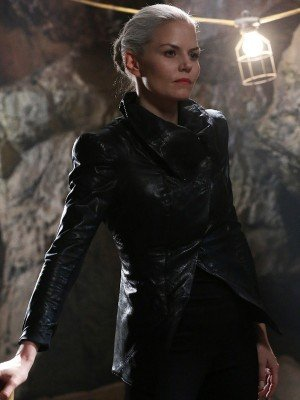 Jennifer Morrison Once Upon a Time Black Leather Jacket