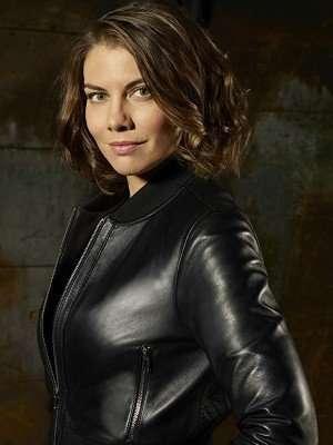 Lauren Cohan TV Series Whiskey Cavalier Leather Jacket