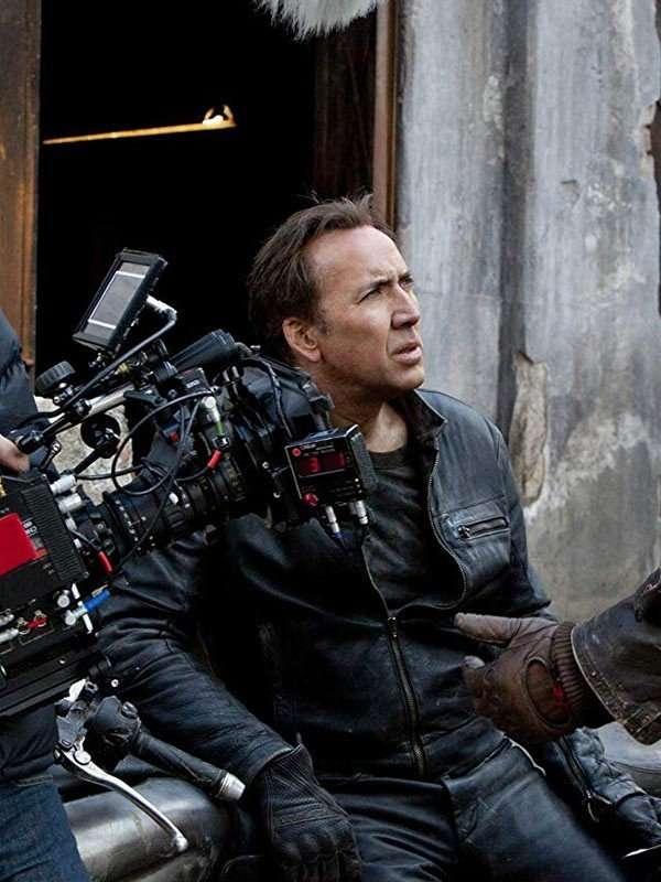 Ghost Rider Nicolas Cage Black Jacket