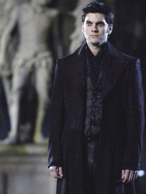 Wes Bentley Ghost Rider Blackheart Black Leather Coat