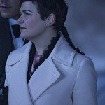 Ginnifer Goodwin Once Upon a Time White Trench Coat