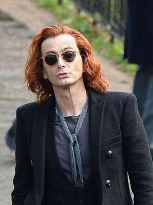 Crowley Good Omens Black Blazer Jacket