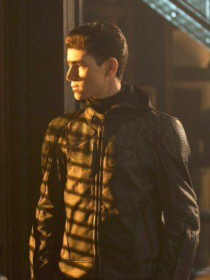TV Series Gotham David Mazouz Leather Jacket