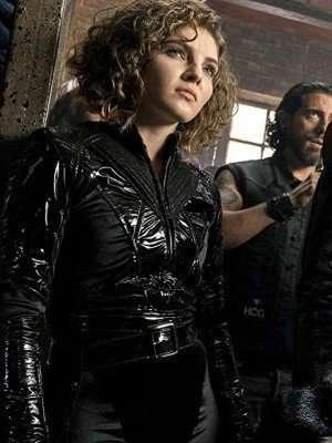 Selina Kyle Gotham Black Jacket