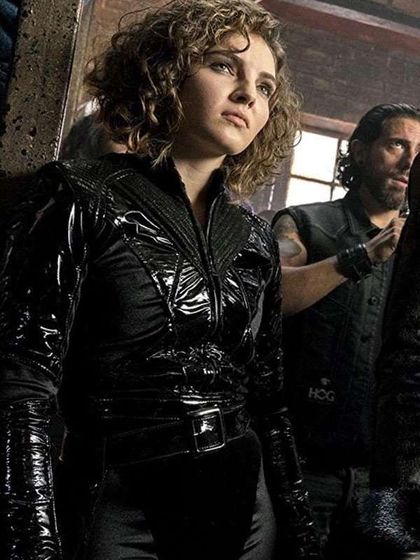 Gotham Cameron Bicondova Leather Jacket
