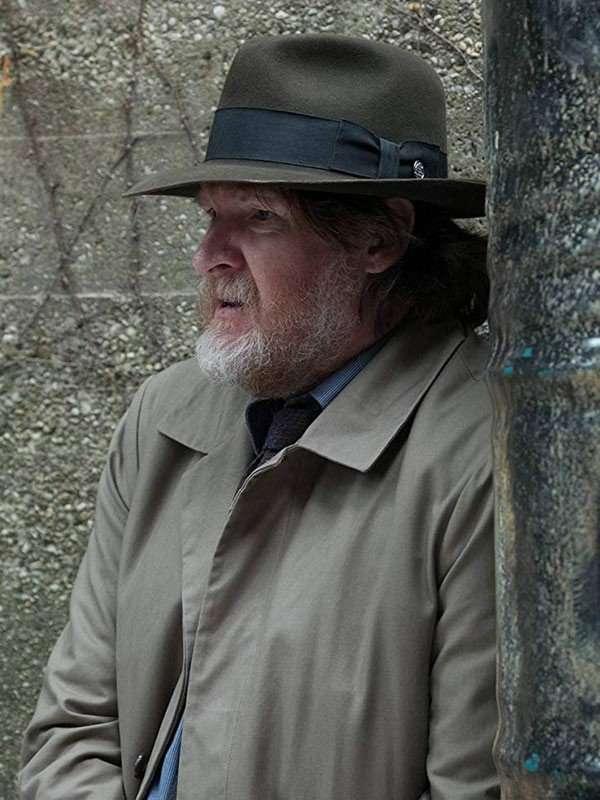 Gotham Donal Logue Coat