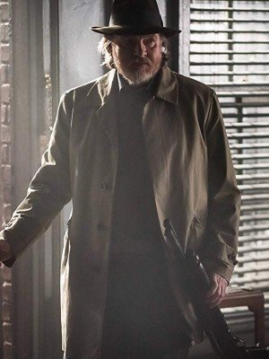 Donal Logue Gotham TV Series Cotton Coat