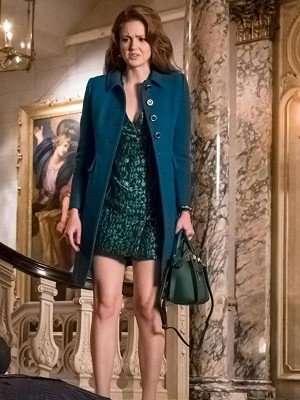 Maggie Geha TV Series Gotham Wool Coat