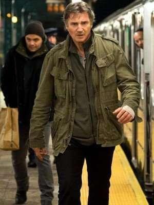 Run All Night Liam Neeson Green Jacket