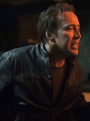 Nicolas Cage Ghost Rider Black Leather Jacket