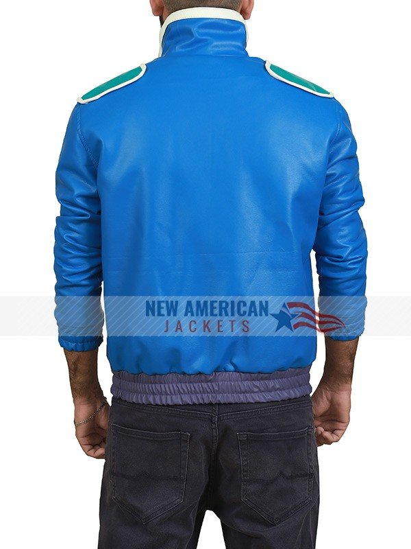 Johnny Cage Blue Jacket